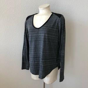 Calvin Klein Jeans gray/black long sleeve top
